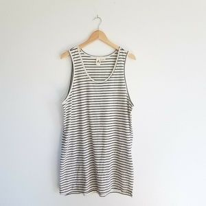 Feathers Anthropologie Striped Tunic Dress Large